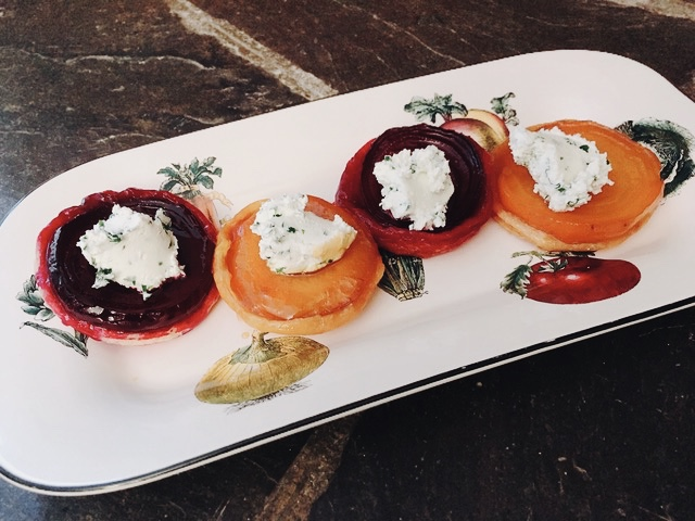 Tartes Tatin With Roasted Beets